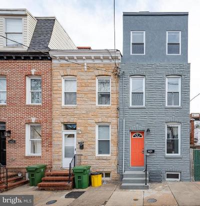Federal Hill Townhouse For Sale: 1429 Olive Street