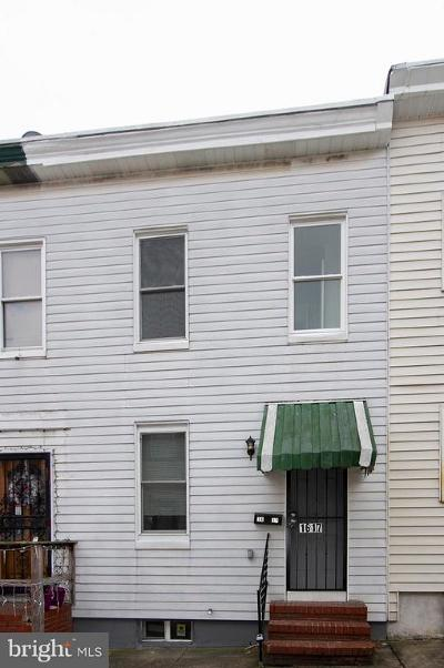 Baltimore City Townhouse For Sale: 1617 Cereal Street