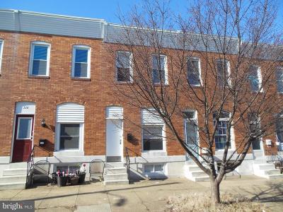 Greektown Townhouse For Sale: 326 S Newkirk Street