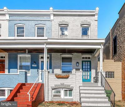 Hampden Townhouse For Sale: 1302 Dellwood Avenue