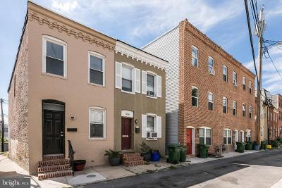 Federal Hill Townhouse For Sale: 1726 Marshall Street