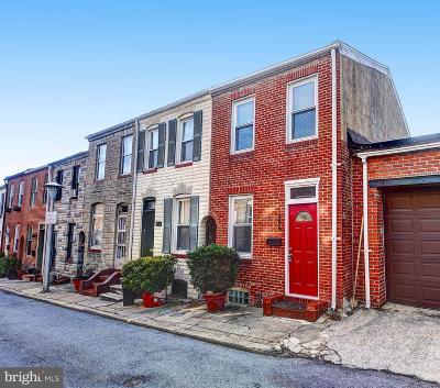 Baltimore City Townhouse For Sale: 206 S Madeira Street