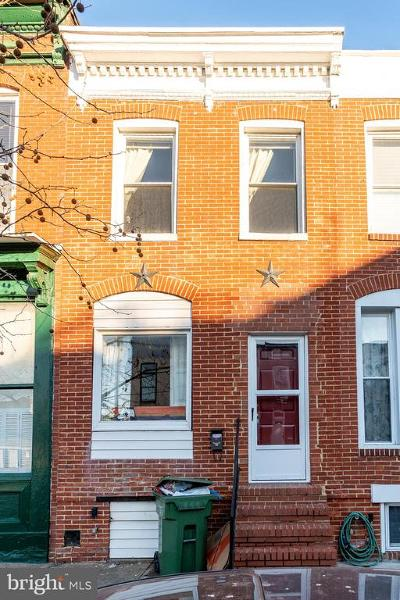 Townhouse For Sale: 1603 S Hanover Street