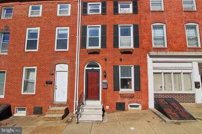 Baltimore City Townhouse For Sale: 1826 E Lombard Street
