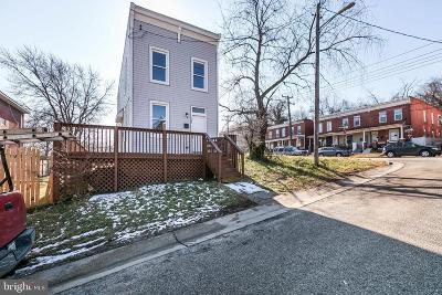 Baltimore City Single Family Home For Sale: 1503 Hazel Street