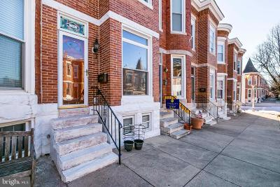 Federal Hill Townhouse For Sale: 1639 Jackson Street