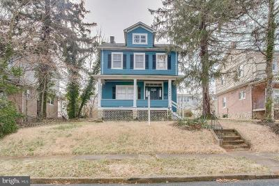 Baltimore City Single Family Home For Sale: 1717 Windemere Avenue