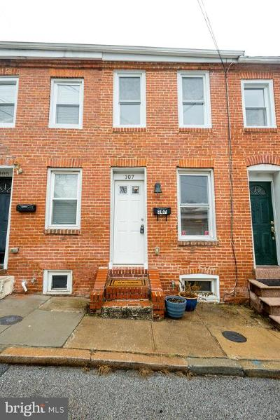 Fells Point Townhouse For Sale: 307 S Castle Street