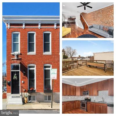 Baltimore Townhouse For Sale: 1318 Patapsco Street