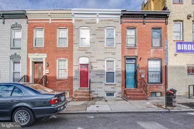 Baltimore City Townhouse For Sale: 1104 Washington Boulevard