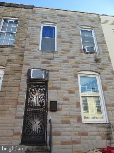 Baltimore MD Townhouse For Sale: $145,999