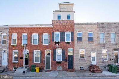 Baltimore City Townhouse For Sale: 1321 Cooksie Street