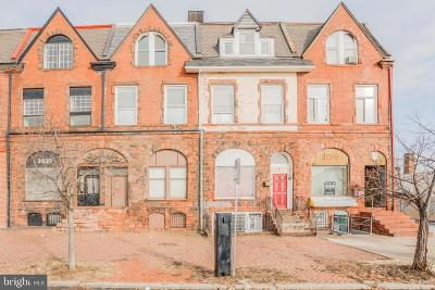Baltimore City Townhouse For Sale: 2021 Maryland Avenue