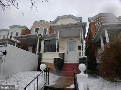 Baltimore Single Family Home For Sale: 4614 York Road