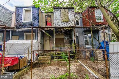Baltimore MD Townhouse For Sale: $15,000