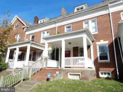 Baltimore Single Family Home For Sale: 352 E University Parkway