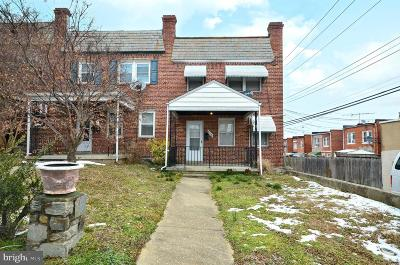 Baltimore MD Townhouse For Sale: $145,000