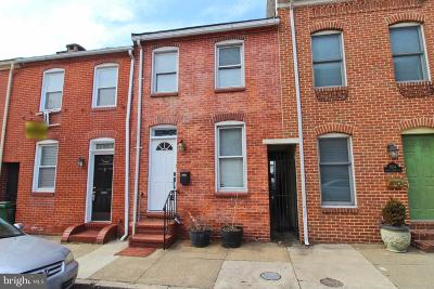 Baltimore Townhouse For Sale: 1106 S Curley Street