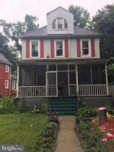 Baltimore Single Family Home For Sale: 3611 Windsor Mill Road