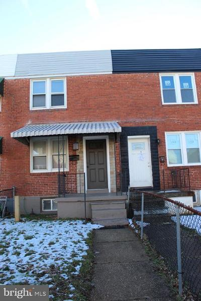 Baltimore City Rental For Rent: 2034 Harman Avenue