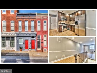 Baltimore City Rental For Rent: 2120 Fayette Street E #1