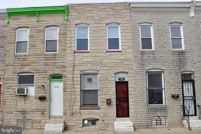 Baltimore Townhouse For Sale: 714 N Port Street