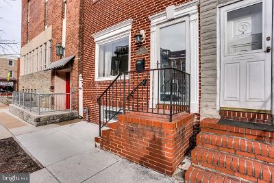 Baltimore Townhouse For Sale: 1501 Battery Avenue