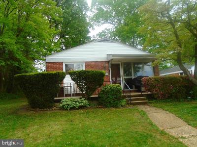 Baltimore City Rental For Rent: 5912 Winner Avenue
