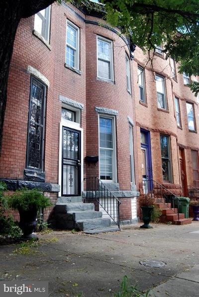 Baltimore City Rental For Rent: 2419 Woodbrook Avenue