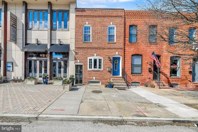 Baltimore Townhouse For Sale: 936 S Conkling Street
