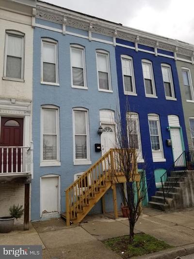Charles Village Townhouse For Sale: 2541 N Howard Street