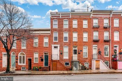 Baltimore City Townhouse For Sale: 1231 William Street