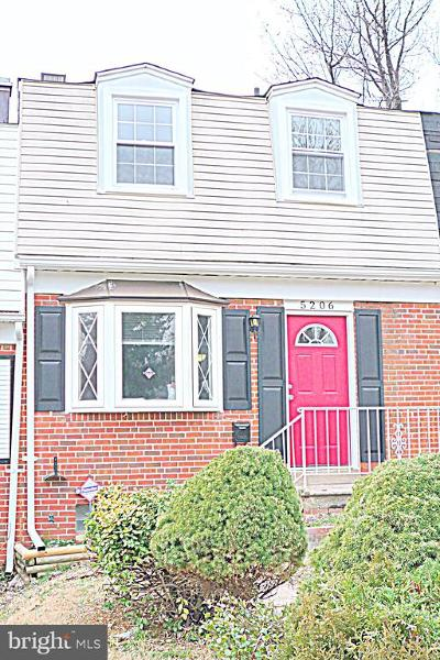 Townhouse Active Under Contract: 5206 Saybrook Road