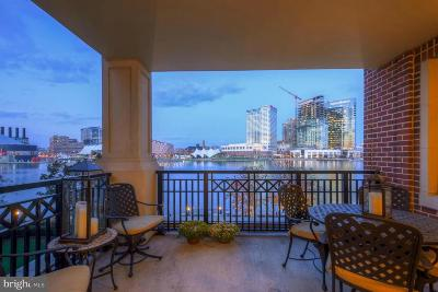 Baltimore City Condo For Sale: 801 Key Highway #320