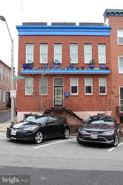 Baltimore City Townhouse For Sale: 2222 E Fairmount Avenue E