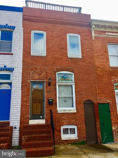 Canton Townhouse For Sale: 735 S Montford Avenue