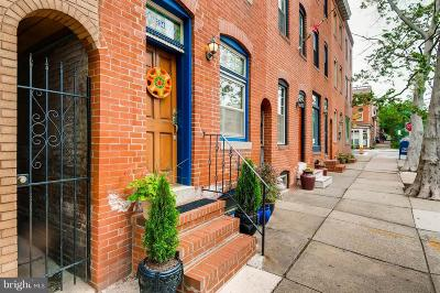 Upper Fells Point Townhouse For Sale: 2048 Bank Street