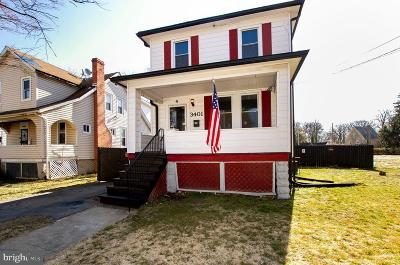 Baltimore Single Family Home For Sale: 3401 Milford Avenue