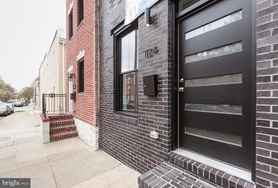 Baltimore City Townhouse For Sale: 1124 S Ellwood Avenue S