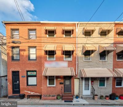 Fells Point Townhouse For Sale: 529 S Chapel Street