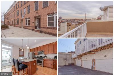 Canton, Canton Company, Canton Cove, Canton East, Canton, Patterson Park, Canton/Brewers Hill, Canton/Lighthouse Landing Townhouse For Sale: 615 S Luzerne Avenue