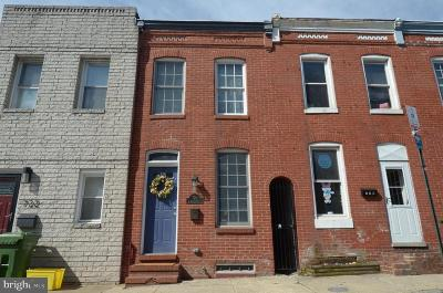 Canton Townhouse For Sale: 720 S Rose Street