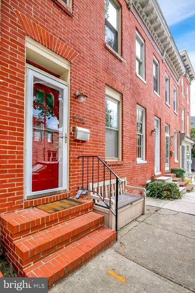 Federal Hill Townhouse For Sale: 1206 Battery Avenue