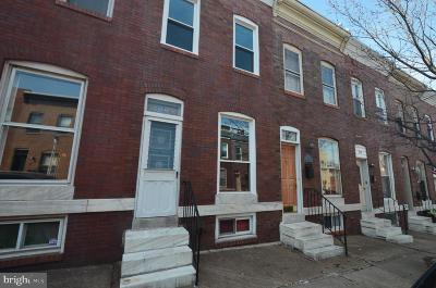 Canton Townhouse For Sale: 514 S Curley Street