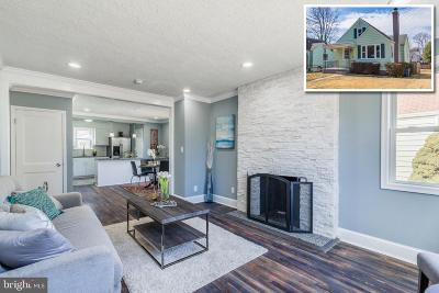 Baltimore Single Family Home For Sale: 6512 Moyer Avenue