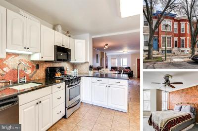 Baltimore Townhouse For Sale: 1815 Belt Street