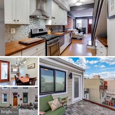 Baltimore City Townhouse For Sale: 1457 Hull Street