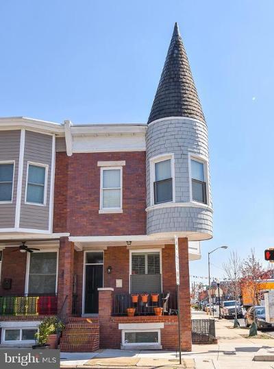 Baltimore City Townhouse For Sale: 441 S Ellwood Avenue