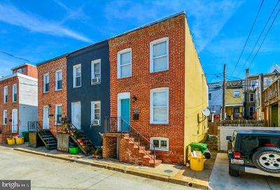 Federal Hill Townhouse For Sale: 1627 Olive Street