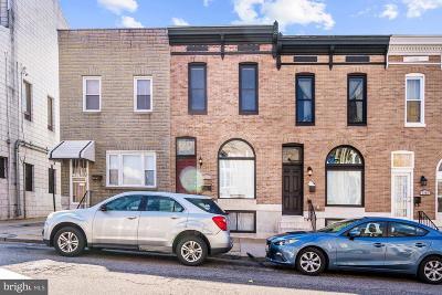 Townhouse For Sale: 3309 E Pratt Street